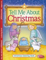 Tell Me About Christmas Coloring and Activity Book--Ages 2 to 5