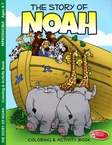 The Story of Noah Coloring and Activity Book--Ages 4 to 7