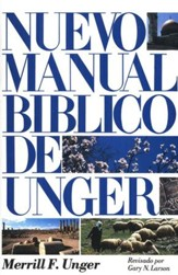 Nuevo Manual Bíblico de Unger, Pasta dura  (New Unger's Bible Handbook, Hardcover) - Slightly Imperfect