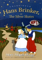 Hans Brinker - unabridged audiobook on MP3-CD
