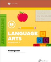 Lifepac Language Arts, Kindergarten, Student Book 2