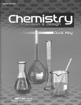 Chemistry: Precision & Design Quiz Key