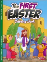The First Easter Coloring Book (ages 5 to 7)