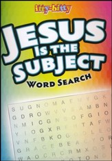 Jesus is the Subject Word Search--Itty-Bitty Bible Activity Book