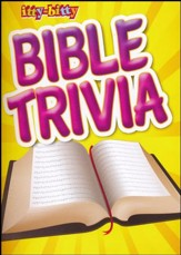 Itty-bitty Bible Trivia Activity Book