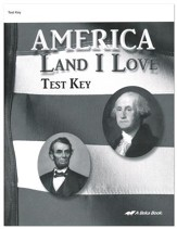 America: Land I Love Tests Key