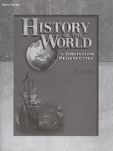 History of the World Tests Key, 4th Edition