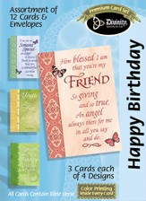 How Blessed I am Birthday Cards, Box of 12