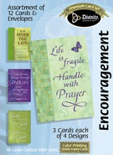 Life is Fragile Encouragement Cards, Box of 12