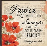 Rejoice In the Lord Always Art