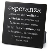 Esperanza (Hope) Plaque