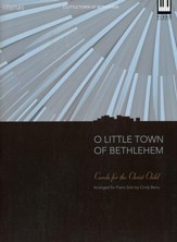 O Little Town Of Bethlehem, Keyboard Book