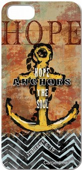 Hope Anchors, iPhone 5 Case
