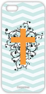 Cross on Chevron, iPhone 5 Case