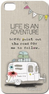 Life Is An Adventure, iPhone 4/4S Case