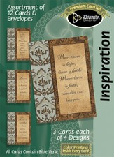 Faith Panels Inspiration Cards, Box of 12