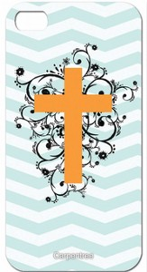 Cross on Chevron, iPhone 4/4S Case