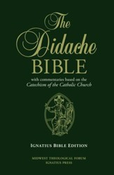 RSV Didache Bible with Commentaries Based on the RC Cathechism Cathechism of the Catholic Church
