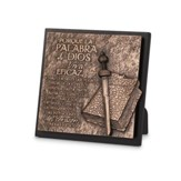 La Palabra de Dios, Placa (The Word of God, Plaque)
