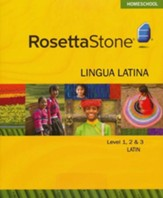 Latin Level 1,2 & 3 Set with Audio Companion Homeschool Edition, Version 3