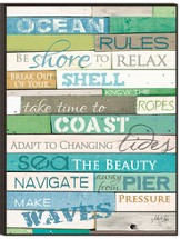 Ocean Rules Wall Art