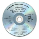 10 Hymns & Gospel Songs for Solo Voices (Listening CD)