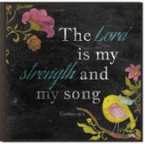 The Lord Is My Strength and My Song Wall Art