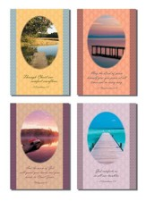 Water Scenes Sympathy Cards, Box of 12