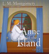 Anne of the Island - unabridged audiobook on CD
