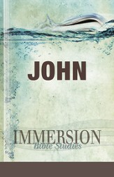 Immersion Bible Studies: John - eBook