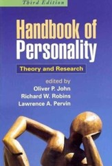 Handbook of Personality: Theory and Research, 3rd Edition