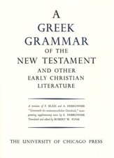 Greek Grammar of the New Testament