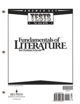 BJU Fundamentlas of Literature Grade 9, Tests Answer Key