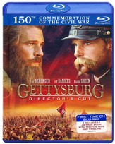 Gettysburg: Director's Cut, Blu-ray/DVD/Book Set