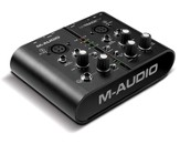 M-Track Plus-Audio and Midi Interface Bundled with Pro Tools Express