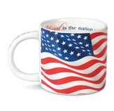 Blessed Is The Nation, Ceramic Mug