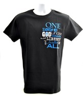 One Nation Shirt, Black, Small