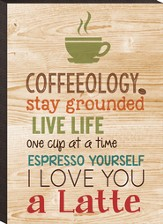 Coffeeology Mini Plaque