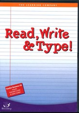 Read, Write & Type School Version CD-ROM Set