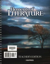 Elements Of Literature Grade 10, Teacher's Edition (Updated  Version)
