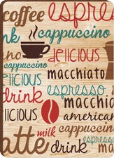 Coffeeology Magnet, Tan
