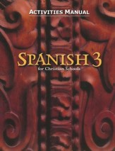 BJU Spanish 3, Student Activities Manual