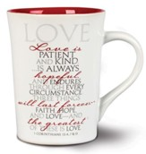 Love--It Is Written Ceramic Mug