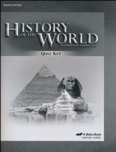 History of the World in Christian Perspective Quiz Key (5th  Edition)