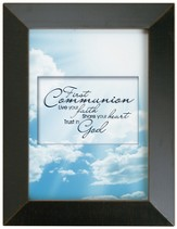 First Communion Framed Inspiration