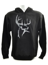 Duck Dynasty, Buck Commander Hooded Sweatshirt, Black, Large