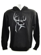 Buck Commander Hooded Sweatshirt, Black, Small