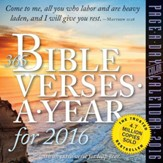 365 Bible Verses--2016 Tear-Away Calendar