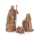 Holy Family Bronze Look Figurines