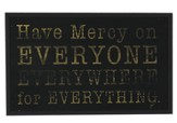 Have Mercy Wood Box Print